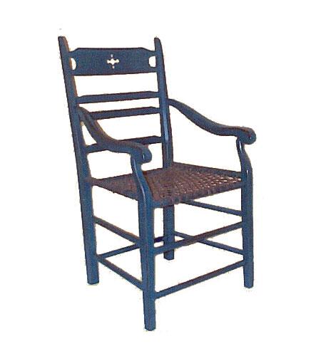 Capitaine paysanne babiche produit de bois fabriqu au for Chaise du capitaine