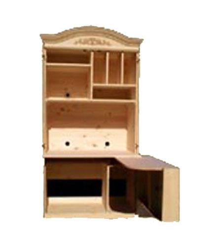 armoire ordinateur cath drale produit de bois fabriqu. Black Bedroom Furniture Sets. Home Design Ideas