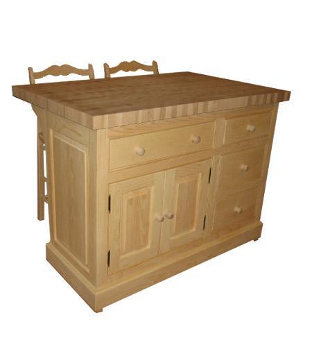 Comptoir de boucher en bois best le sablage variera selon for Tables de bloc de boucher de cuisine ikea